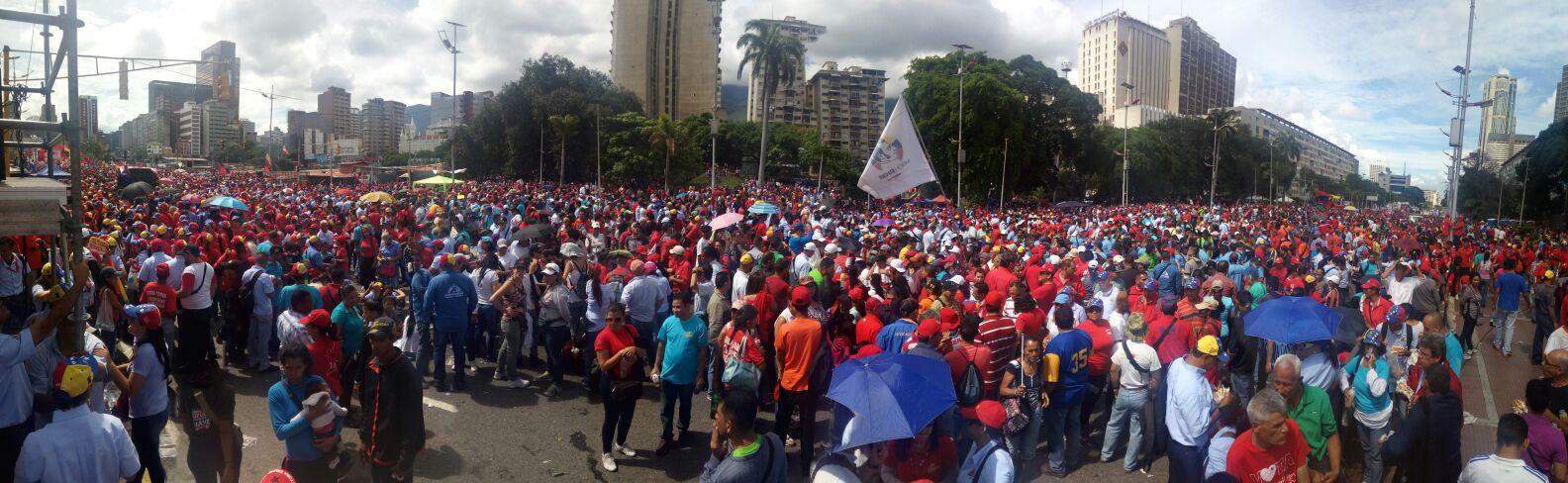 Panorámica Avenida Bolivar