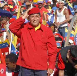 Chavez comes to London