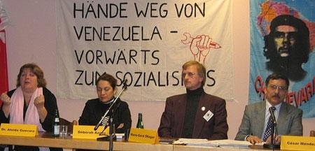Public meeting with Che Guevara's daughter, Aleida Guevara