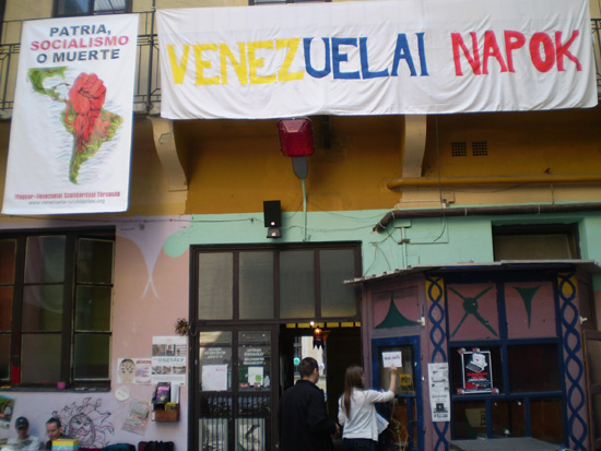 Hungarian Solidarity with Venezuelan Revolution