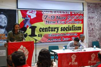 Jorge Martin at 21st Century Socialism Conference in Kuala Lumpur