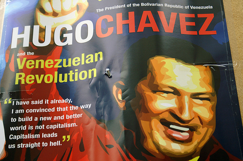 Hugo Chavez in Historic Visit to London