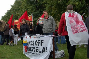 Hands Off Venezuela at ESF