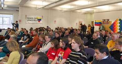 Hands off Venezuela National Conference 2007 a great success!