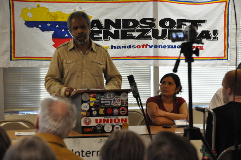 August Nimtz, a professor at the University of Minnesota and member of the Minnesota Cuba Committee.