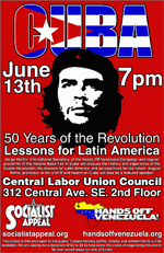 50th Anniversary of the Cuban Revolution - Successful Event in Minneapolis